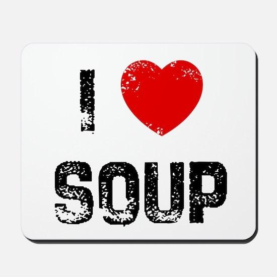 I * Soup Mousepad