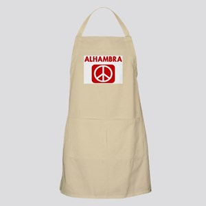 ALHAMBRA for peace BBQ Apron