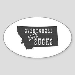 Montana Sticker (Oval)