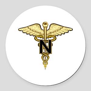 nurse_corps5 Round Car Magnet
