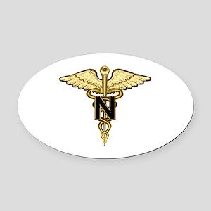 nurse_corps5 Oval Car Magnet