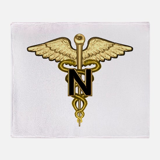 nurse_corps5.png Throw Blanket