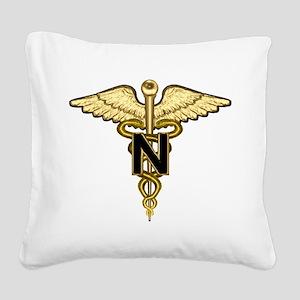 nurse_corps5 Square Canvas Pillow