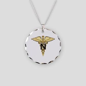 nurse_corps5 Necklace Circle Charm