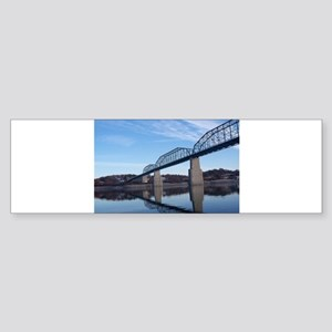 Walnut_Street_Bridge Bumper Sticker