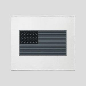 flg_patch_urb Throw Blanket