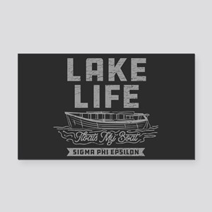 Sigma Phi Epsilon Lake Rectangle Car Magnet