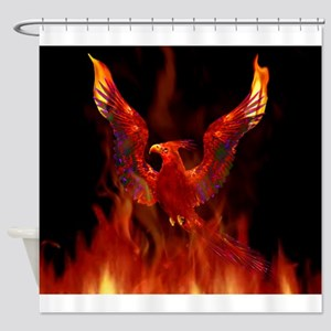 firebird1 Shower Curtain