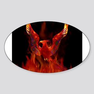 Phoenix Rising Rectangle Sticker