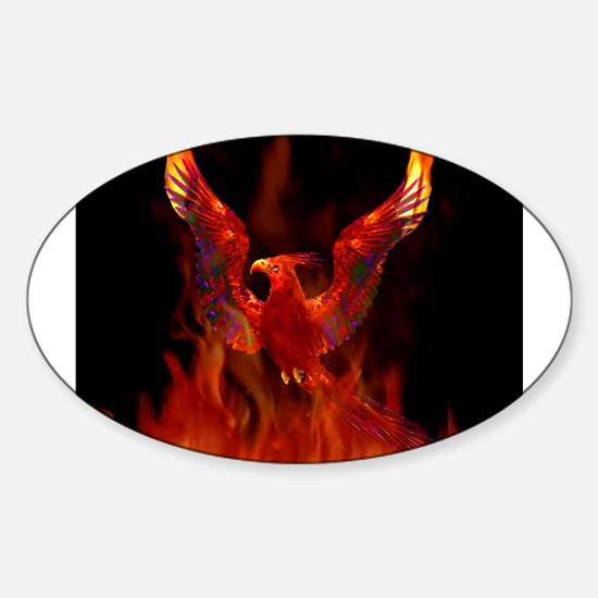 Phoenix Rising Rectangle Decal