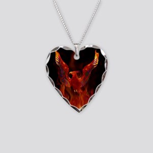 firebird1 Necklace Heart Charm
