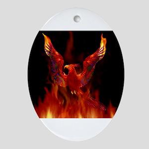 firebird1 Oval Ornament