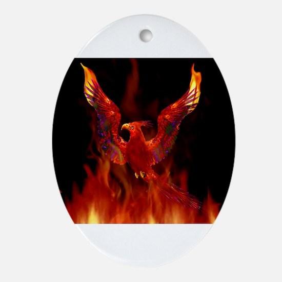 firebird1.jpg Oval Ornament