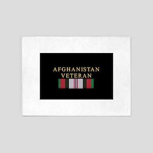 afghan_cam2 5'x7'Area Rug