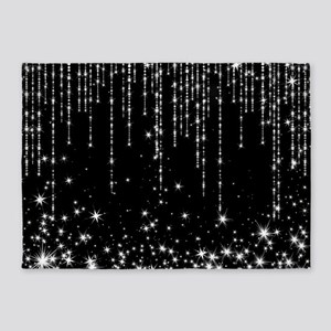 STAR SHOWER 5'x7'Area Rug