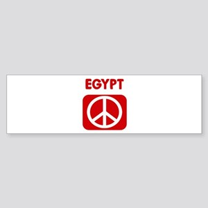 EGYPT for peace Bumper Sticker