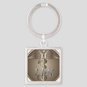 LPN Caduceus Keychains