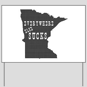 Minnesota Yard Sign