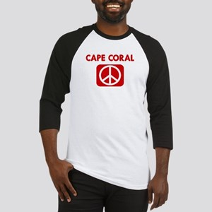 CAPE CORAL for peace Baseball Jersey