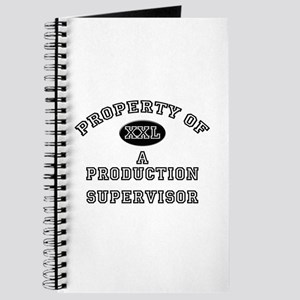 Property of a Production Supervisor Journal