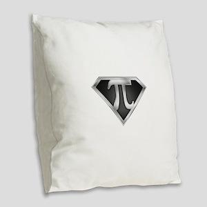 spr_pi_chrm Burlap Throw Pillow