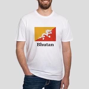 Bhutan Fitted T-Shirt