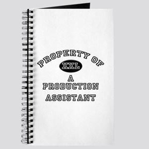 Property of a Production Assistant Journal
