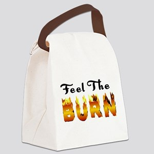 the_burn Canvas Lunch Bag