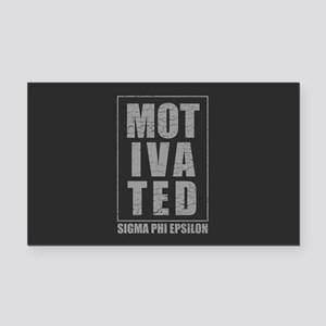 Sigma Phi Epsilon Motivated Rectangle Car Magnet