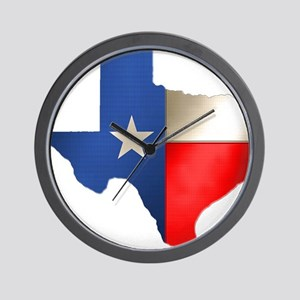 state_texas Wall Clock