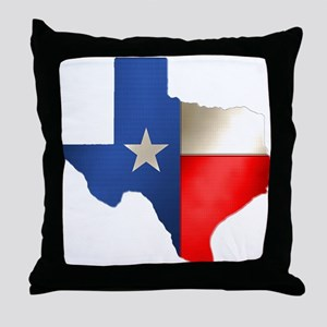 state_texas Throw Pillow