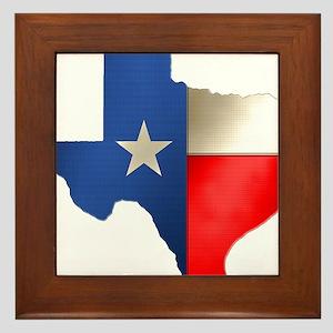 state_texas Framed Tile