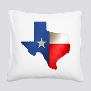 state_texas Square Canvas Pillow