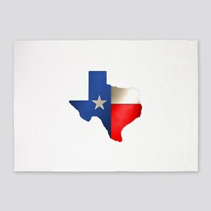 state_texas 5'x7'Area Rug