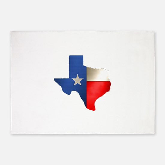 state_texas.png 5'x7'Area Rug