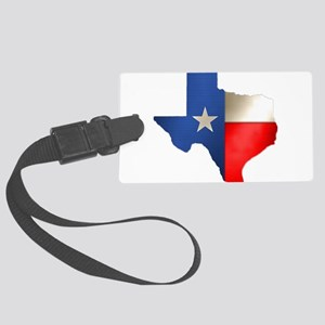 state_texas Large Luggage Tag