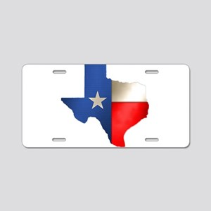 state_texas Aluminum License Plate