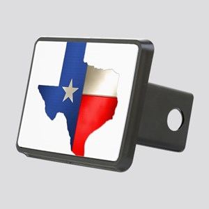state_texas Rectangular Hitch Cover