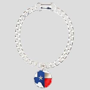 state_texas Charm Bracelet, One Charm