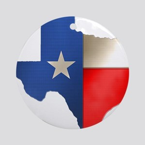 state_texas Round Ornament