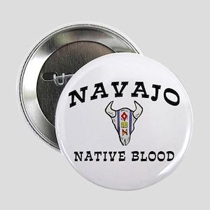 Navajo Native Blood Button