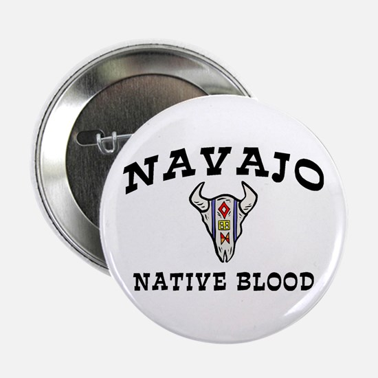 Navajo Native Blood Button