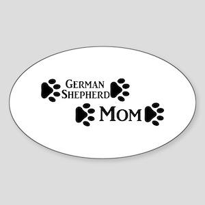 German Shepherd Mom Sticker