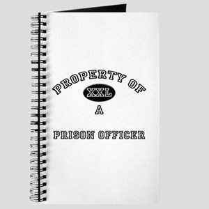 Property of a Prison Officer Journal