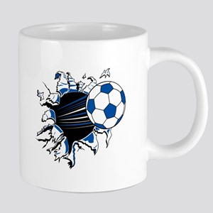 Soccer Ball Burst Mugs