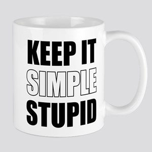 Keep It Simple Stupid 11 oz Ceramic Mug