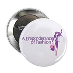 """Fashion Law Lady Justice 2.25"""" Button (10 Pac"""