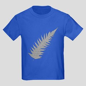 Silver Fern Aotearoa Kids Dark T-Shirt