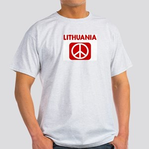 LITHUANIA for peace Light T-Shirt