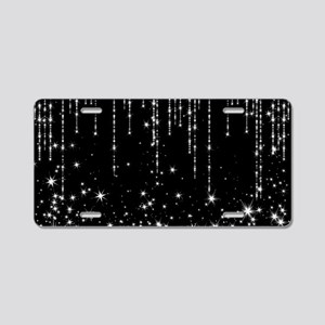 STAR SHOWER Aluminum License Plate